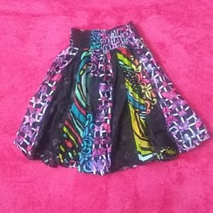 Dresses & Skirts - Colorful artistic skirt.